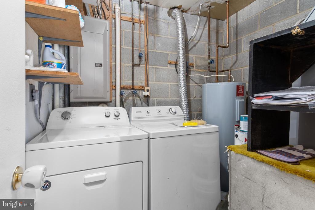 Laundry/utility room - 6350 FENESTRA CT #129A, BURKE