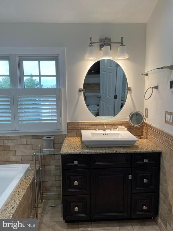 Primary bathroom - separate tub & shower - 2305 KENOSHA PL, SILVER SPRING