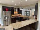 Gorgeous gourmet kitchen w/heated floor - 2305 KENOSHA PL, SILVER SPRING