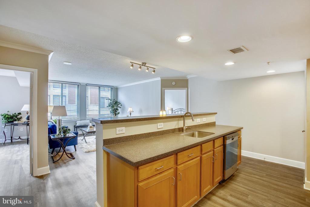 Open Kitchen, Dining, Living Room - 1205 N GARFIELD ST #905, ARLINGTON