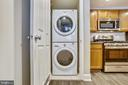 Full-size Washer & Dryer Stacked - 1205 N GARFIELD ST #905, ARLINGTON