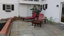 Patio off recreation room - 8703 SUDBURY PL, ALEXANDRIA