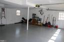 Two car garage - 8703 SUDBURY PL, ALEXANDRIA