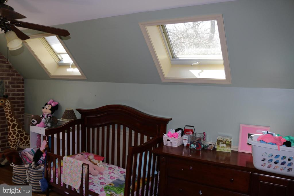 Fourth bedroom with skylights - 8703 SUDBURY PL, ALEXANDRIA