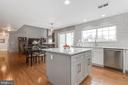 Kitchen to Family Room - 9696 ANJOU CT, MANASSAS