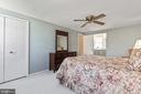 Master Bedroom - 9729 IRONMASTER DR, BURKE