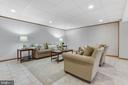Basement Rec Room - 9696 ANJOU CT, MANASSAS