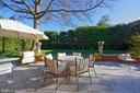 Enjoy al fresco dining steps from the kitchen - 711 PRINCE ST, ALEXANDRIA