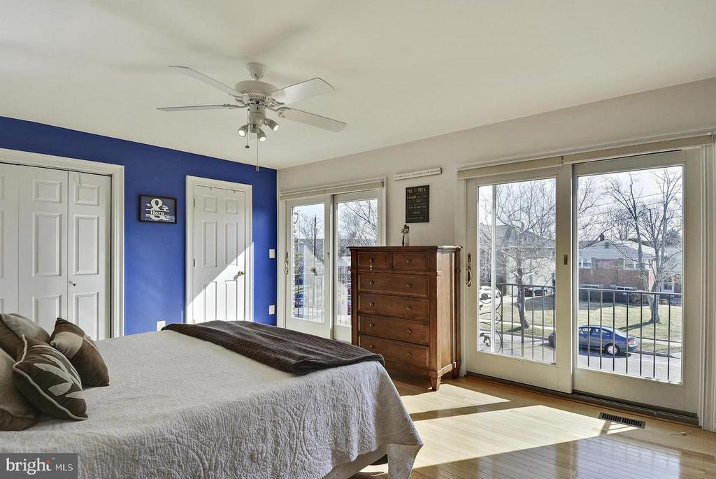North Unit Master Bedroom - 5806 FLANDERS ST, SPRINGFIELD