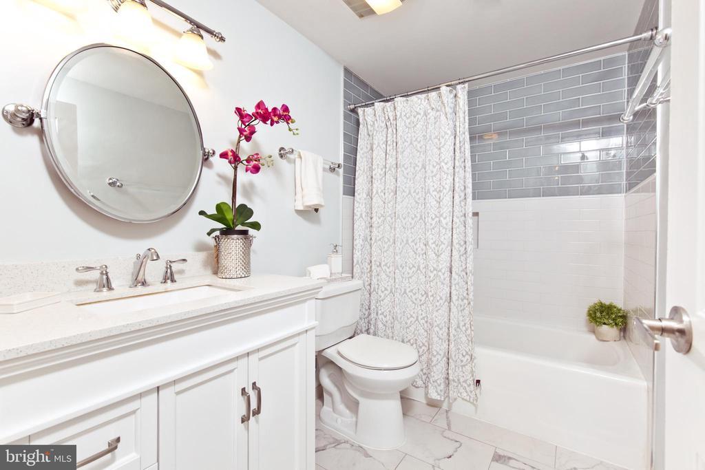 Upgraded bathroom - 1805 CRYSTAL DR #810S, ARLINGTON