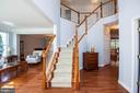 Foyer view - 11413 RAMSBURG CT, NORTH POTOMAC