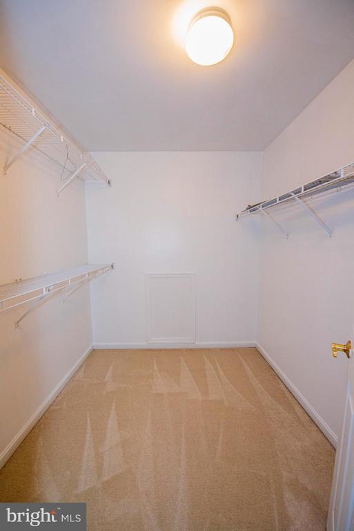 Master Bedroom - walk in closet 2 - 11413 RAMSBURG CT, NORTH POTOMAC