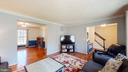 Open flow to other main-level rooms - 3014 MEDITERRANEAN DR, STAFFORD