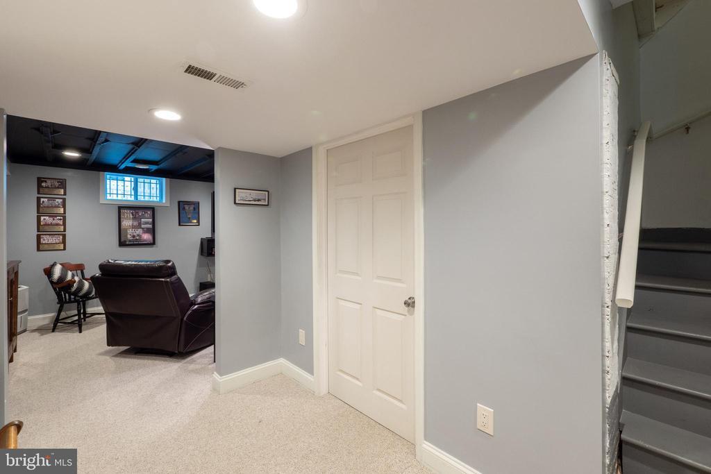 Storage area in basement as well - 1244 MONROE ST NE, WASHINGTON