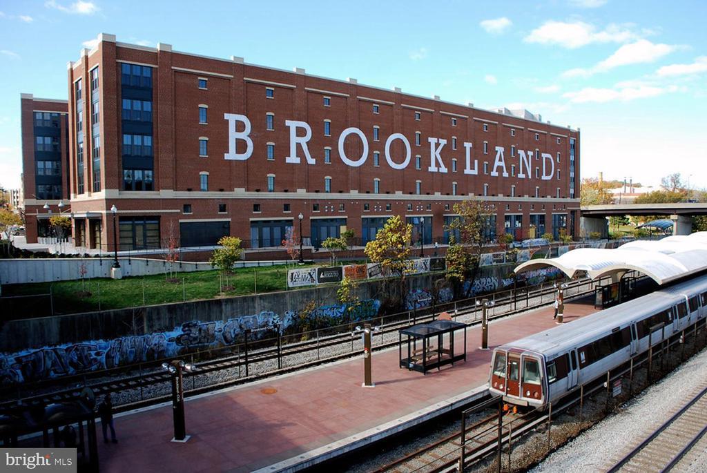 Brookland Metrorail stop is close by - 1244 MONROE ST NE, WASHINGTON