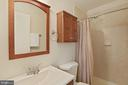 Renovated Primary bathroom - 304 W VERNON CT, STERLING