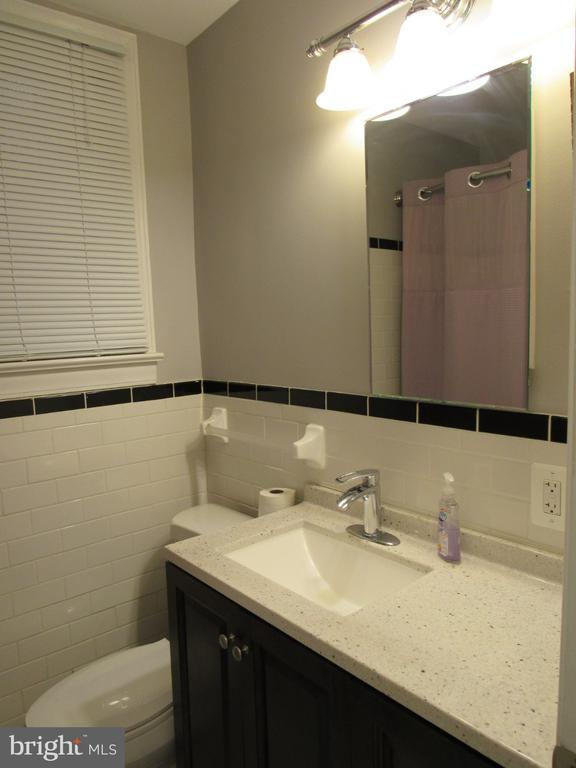 First-floor bathroom - 1440 S ST NW, WASHINGTON