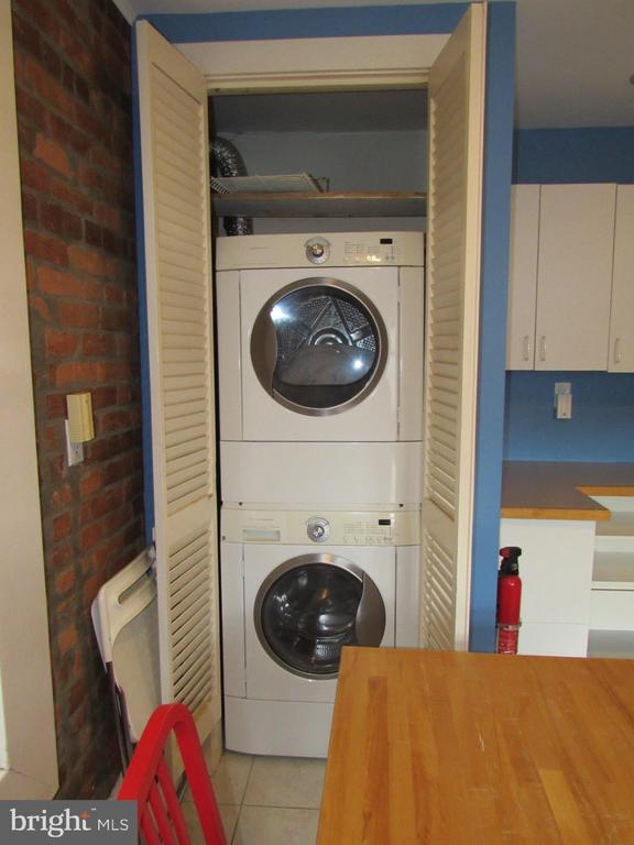 Second-floor laundry - 1440 S ST NW, WASHINGTON