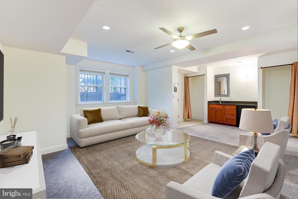 English Basement w/ Full Bath (Bedroom 6) - 610 MARYLAND AVE NE, WASHINGTON