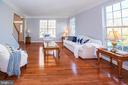 Living Room with surrounding windows - 11413 RAMSBURG CT, NORTH POTOMAC
