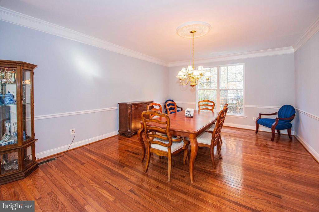 Dining Room - 11413 RAMSBURG CT, NORTH POTOMAC