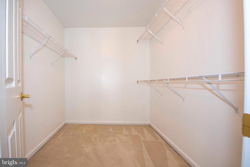 Master Bedroom - walk in closet 1 - 11413 RAMSBURG CT, NORTH POTOMAC
