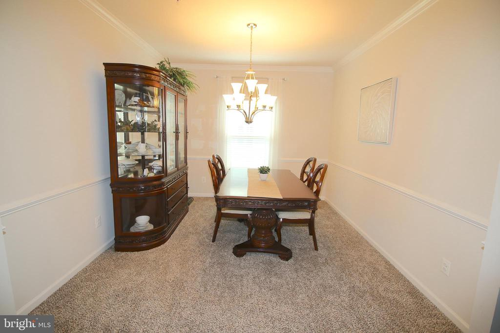Formal Dining Room - 2532 SWEET CLOVER CT, DUMFRIES