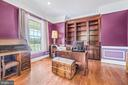 Home Office on Main Level - 11170 GEORGES MILL RD, LOVETTSVILLE