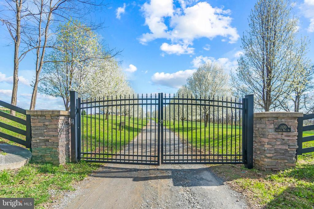 Gated Entrance and Extreme Privacy - 11170 GEORGES MILL RD, LOVETTSVILLE