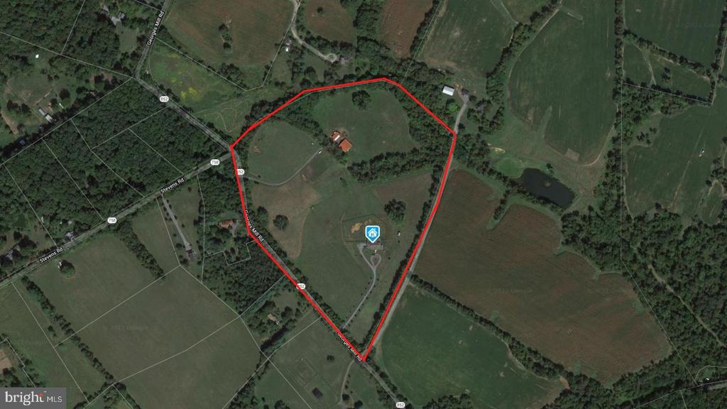 Parcel Outline - 11170 GEORGES MILL RD, LOVETTSVILLE