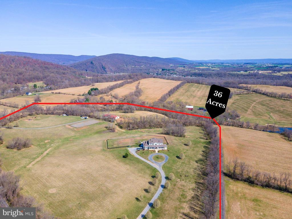 36 Acres and NO HOA! Bring your animals! - 11170 GEORGES MILL RD, LOVETTSVILLE