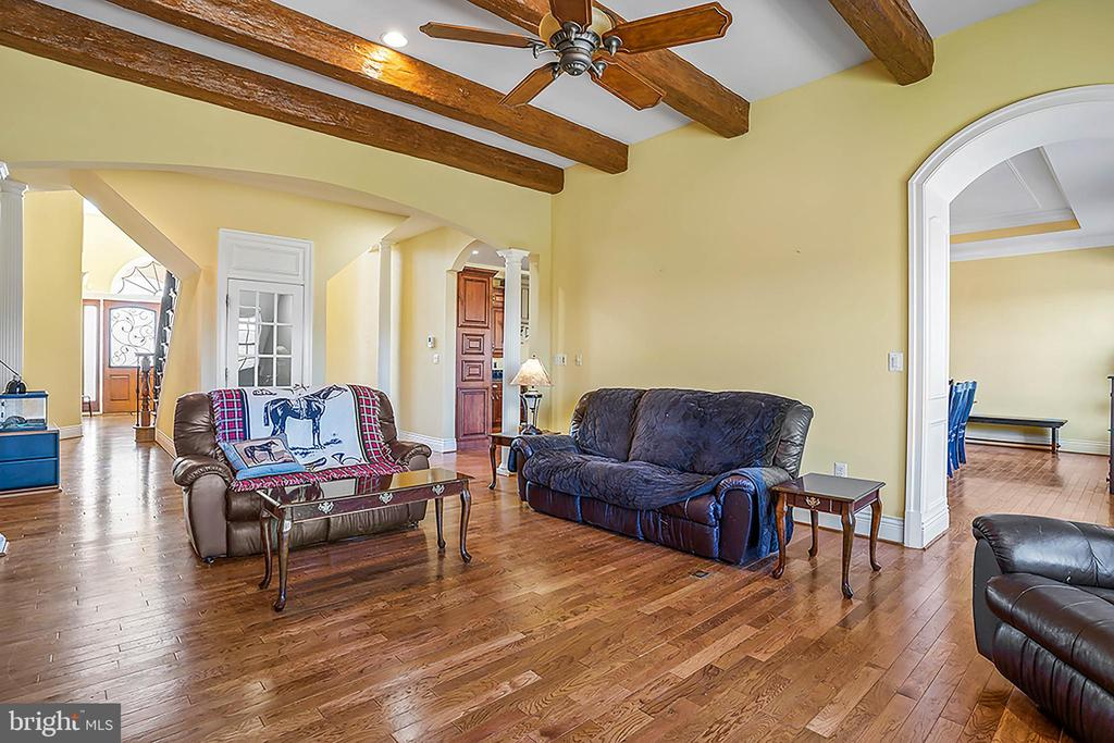 Spacious Family Room with Vaulted ceilings - 11170 GEORGES MILL RD, LOVETTSVILLE