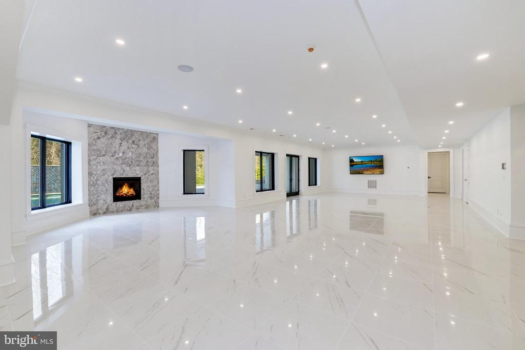 Recreation Room - Lounge and Game Areas - 1332 MCCAY LN, MCLEAN