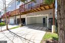 Garage entry allows 2 additional parking spaces! - 21786 JARVIS SQ, ASHBURN