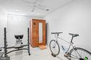 Optional 5th bedroom, being used as fitness room - 43191 BURSTALL CT, LEESBURG