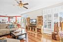 Light and bright main level walks out to... - 43191 BURSTALL CT, LEESBURG