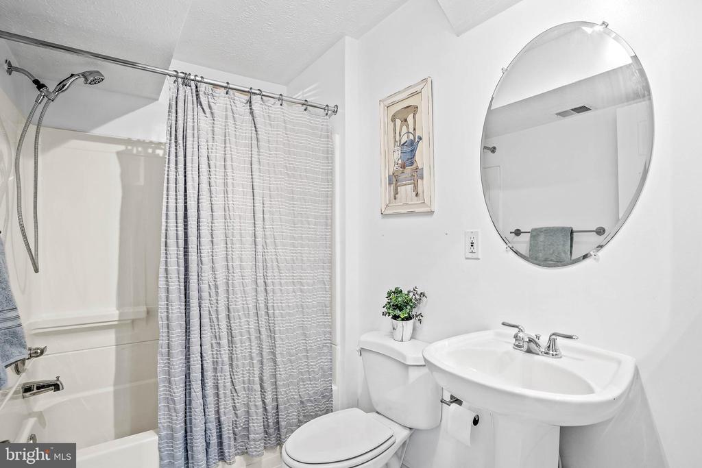 Lower level full bath - 43191 BURSTALL CT, LEESBURG