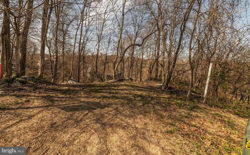 View from road to lot - 6806 ROCKCREST CIR, NEW MARKET