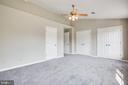 Master Bedroom - 206 CROSSING RD, FREDERICKSBURG