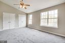 large Master bedroom NEW carpet - 206 CROSSING RD, FREDERICKSBURG