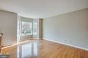 Family room new bay windows - 206 CROSSING RD, FREDERICKSBURG
