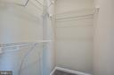 2nd bedroom walk in closet - 206 CROSSING RD, FREDERICKSBURG