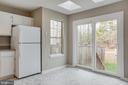 Kitchen NEW sliding glass doors - 206 CROSSING RD, FREDERICKSBURG
