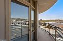 wrap around balcony - 3600 S GLEBE RD #310W, ARLINGTON