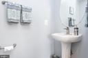 Half bath on main level - 20261 MACGLASHAN TER, ASHBURN