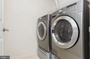 Convenient bedroom level laundry - 20261 MACGLASHAN TER, ASHBURN