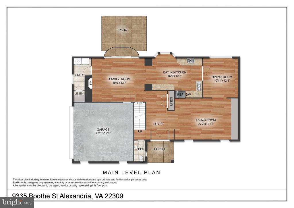 - 9335 BOOTHE ST, ALEXANDRIA