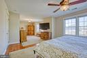 Master suite with sitting area - 6519 ELMHIRST DR, FALLS CHURCH