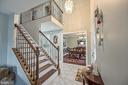 Grand 2 story foyer! - 9326 MAINSAIL DR, BURKE