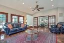 French doors & walkout to deck - 9326 MAINSAIL DR, BURKE